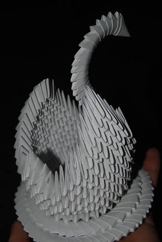 Origami Swan5 by allistair
