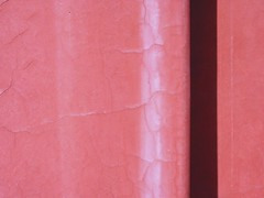 red wall 3 (leopanta*) Tags: pink red abstract color macro berlin texture wall closeup catchycolors zen walls orientalgarden simple 2008 gardensoftheworld canonpowershotg2 freshminds abstractreality grtenderwelt zenenlightment leopanta structuresandtextures