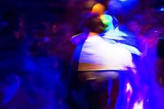 Kissing at the discothéque (ale2000) Tags: longexposure blue gay people white black blur men digital canon dark disco lights dance blurry darkness dancing blu blurvision bears fabrik blurred bianco nero uomini discothèque 450d