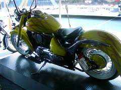 Ridley Motorcycle (nebuladancing) Tags: yellow flames motorcycle ridley