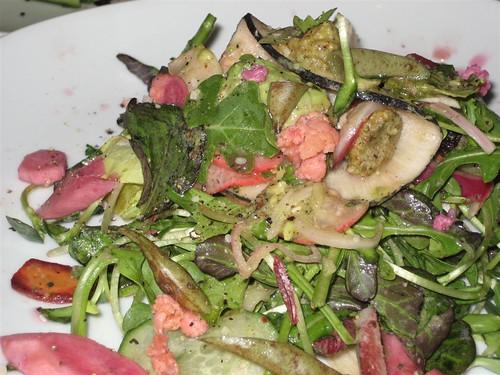 5.7.08 grezzo-house salad close up #1