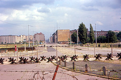 East Berlin - Potsdamer Platz from Berlin Wall