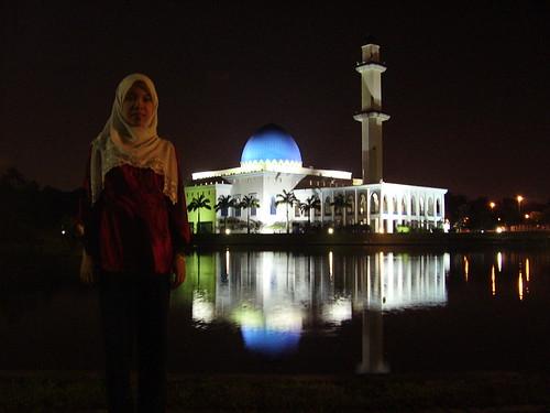 Uniten Mosque @ Night