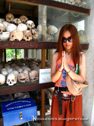 nicolekiss at killing field memorial