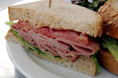 Black Forest Ham sandwich by framboise