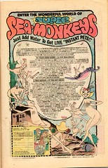 SEA MONKEYS!!! (sparkleneely) Tags: vintage comics ads seamonkeys
