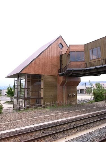 富良野車站空橋