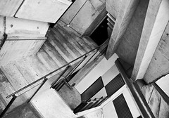 When the music's over (heroethic) Tags: white black architecture stairs utrecht escher gemeentehuis goldstaraward alpha300