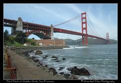 Fort Point at Golden Gate (Greatest Paka Photography) Tags: sanfrancisco northerncalifornia goldengatebridge goldengate fortpoint internationalorange prideofthepacific symbolofthewest