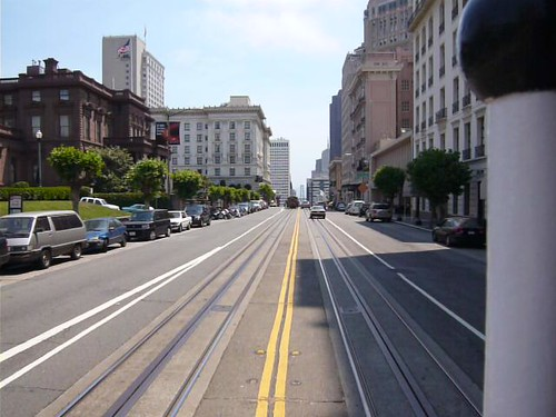 San Francisco - California Cable Car Line