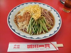 Cold Noodle @ Shisen-Ikkan, Kanda, Tokyo, Japan