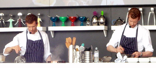 Aitkens brothers demonstration at Taste of London