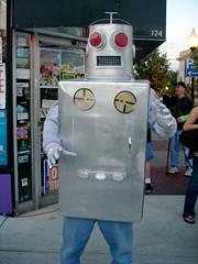 I, Robot (Davezilla was taken) Tags: robot downtown awesome wtf invasion royaloak noirleather