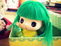 Who are you? ( KawaiiCloud ) Tags: green fairy kawaii cutes ddung