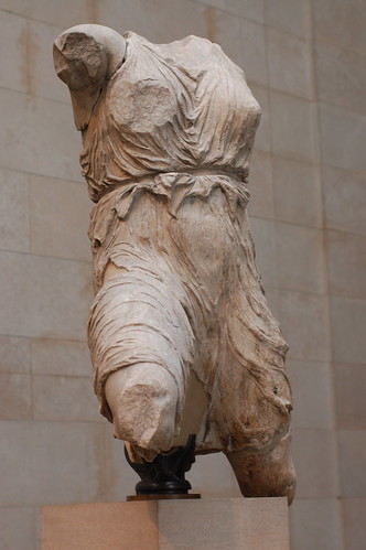 Statue from the Elgin Marbles at the British Museum