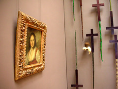 Jan Fabre au Louvre - L'Ange de la métamorphose (eraritjaritjaka) Tags: paris parigi musée louvre jan fabre ange métamorphose musee salles peintures ecole nord art museum
