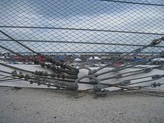 cables (sun dazed) Tags: racetrack fence florida chainlink nascar daytona daytonainternationalspeedway