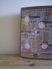 handmade paper notebook - spring