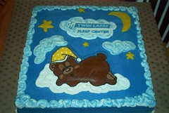 Sleepy Bear Cake