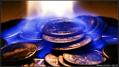 Money On Fire (Go Minolta) Tags: blue usa money hot macro metal closeup bronze america circle fire gold golden washington coin close minolta god coins united president flash rich bank 100mm stack gas cash collection business flame pile penny dollar 7d dime trust copper change quarter nickel 28 richness states wealthy saving savings gasoline atm purchase f28 currency banking stacks teller finance withdraw deposit earnings