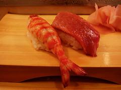 Tsukiji, Tokyo, Japan (josewolff) Tags: food fish japan bar sushi japanese tokyo ginger rice market comida shrimp mercado fatty tsu