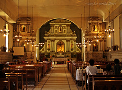 st john the baptist church interior (Angkulet) Tags: travel church interior philippines sanjuan launion