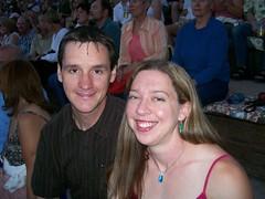 Dennis & Clare at Alison Krauss & Robert Plant Concert