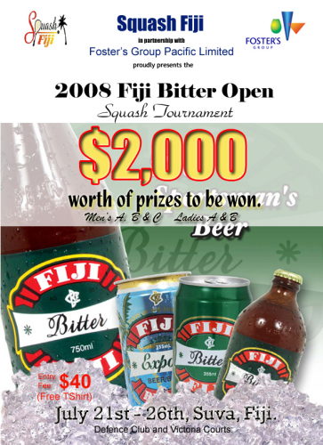 Fiji Bitter Open 2008