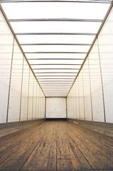 truck interior trailer