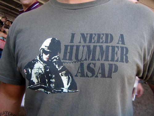 He Needs a Hummer ASAP