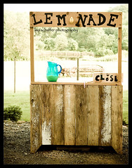 Lemonade Stand (lisaschafferphoto) Tags: closed lemonade 2008 pitcher lemonadestand boogiefest