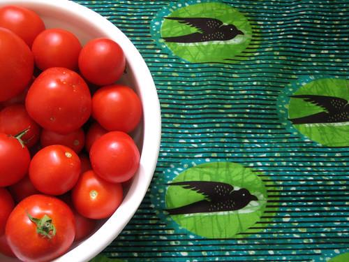 tomate + capulana