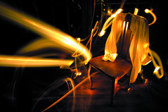 Your shirt on my chair (www.obstinato.com.ar) Tags: crimson yellow bulb night noche living king obsession silla whiteshirt bulbo oldchair obsesin flicklovers yourshitonmychair viejasilla
