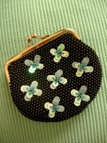 bead purse