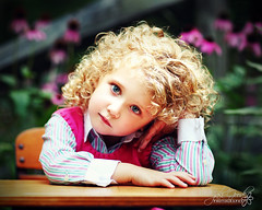 preschool blues (jaki good miller) Tags: portrait people childhood kids kid child blueeyes curls blonde preschool jakigood backtoschool