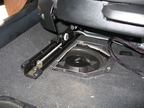 Bmw F30 Underseat Subwoofer