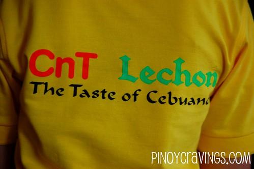 CnT Lechon Cebu Slogan