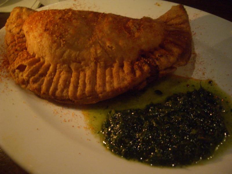 Basque empanada