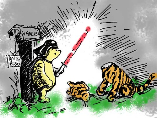 The dark side of pooh (edit)...