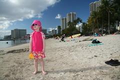 Playing at Waikiki Beach (a.kaupang photo) Tags: hawaii honolulu waikikibeach