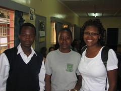 Carmen and Gideon (LearnServe International) Tags: travel school education international learning service 2008 carmen zambia shared lsi cie bycarmen learnserve lsz lsz08 davidkaunda