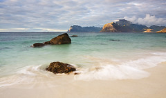 "Lofoten 01 - ""Myrland"" (Anders Hagen-Nsset) Tags: sea summer norway landscape photography fineart scandinavia polarizer whitesand lofoten waterscape polarizingfilter canon1740l secludedbeach canoneos5d myrland"