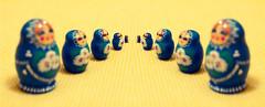 The Matryoshka Effect (beatleg) Tags: stilllife stpetersburg 50mm mirror doll russia olympus double souvenir om russian f4 ussr matrioshka bodegon matryoshka russiandolls urss russiandoll matreshka e330 bodegones sanpetersburgo russiannestingdoll матрешка zuikoom50mm18