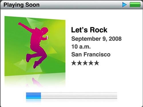 Nuevos iPods este 9 de Septiembre en conferencia de Apple: Let's Rock