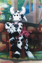 Vaca com bezerro - G53 (Moldes videocurso artesanato) Tags: com vaca bezerro g53