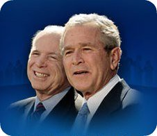 Bush/McCain by you.