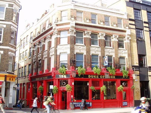 Duke of York, Clerkenwell, EC1
