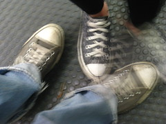 Chucks on the Train