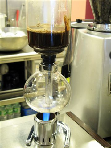siphon pot coffee