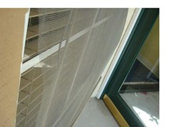 Front entrance window (javier & Bertha Wall Street Real Estate) Tags: via 122 contento